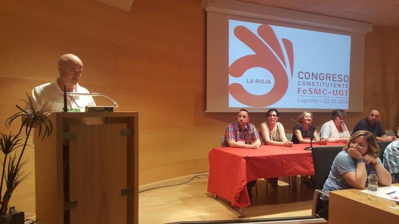 Ana Cruz Llach nueva Secretaria General de FeSMC-UGT La Rioja con el 58,20% de los votos