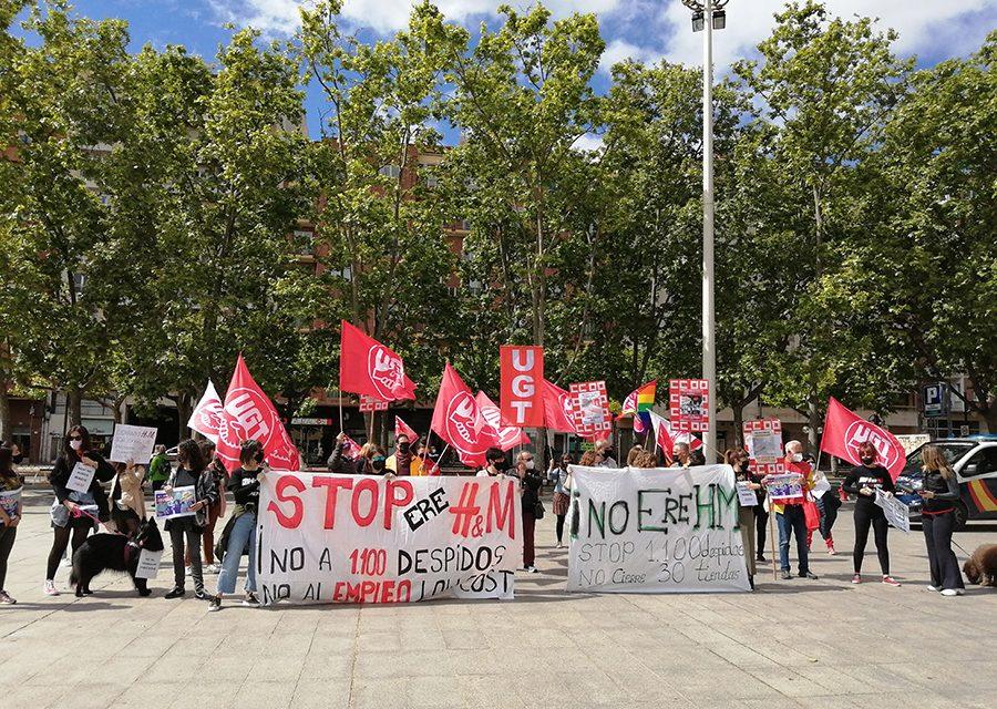 Las trabajadoras de H&M en La Rioja secundan la huelga contra el ERE y el empleo low cost